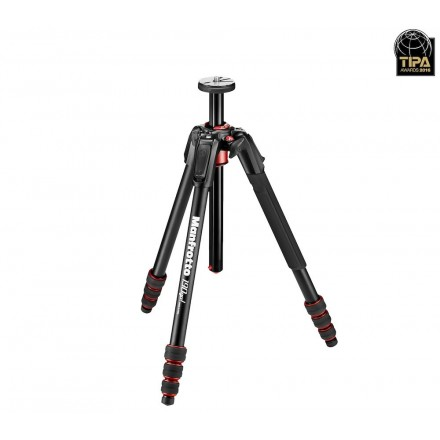 Manfrotto 190 Go! Aluminio 4-Secciones con twist lock (MT190GOA4)