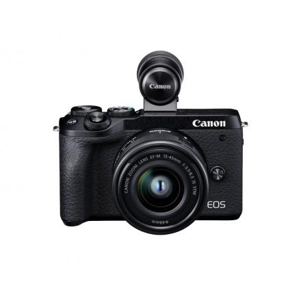 Canon EOS-M6 Mark II + EF-M 15/45 F-3.5-6.3 IS STM + Visor EVF-DC2