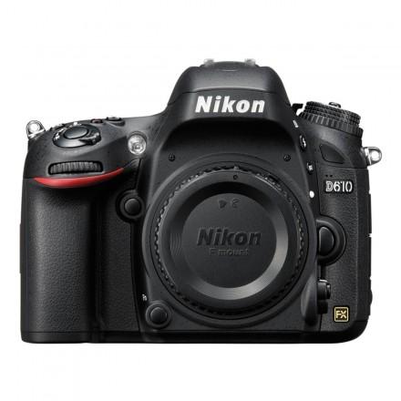 Nikon D-610 (Cuerpo)