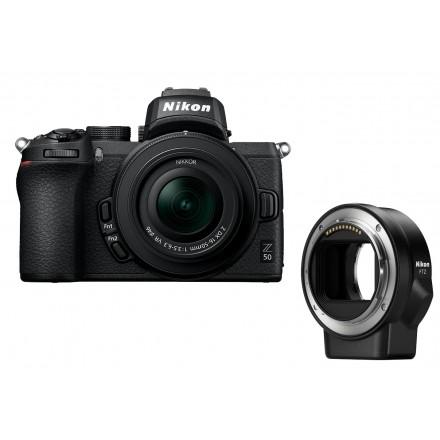 Nikon Z50 +  16/50 F-3.5-6.3 Z DX VR