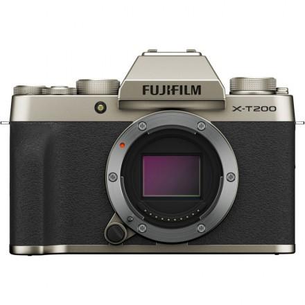 Fujifilm X-T200 (Cuerpo) Champagne