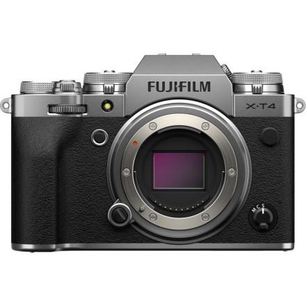 Fujifilm X-T4 (Cuerpo) Plata
