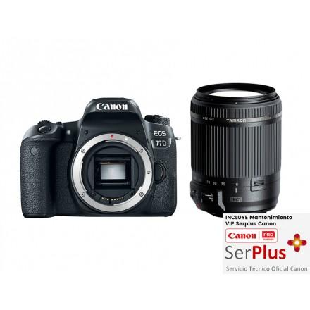 Canon EOS-77D + Tamron 18/200 VC