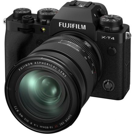 Fujifilm X-T4 + XF 16/80 Negra