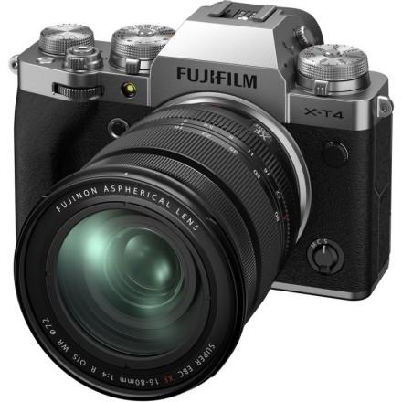 Fujifilm X-T4 + XF 16/80 Plata