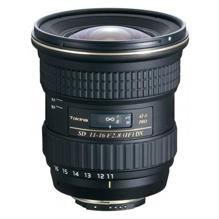 Tokina 11/16 2.8 II (Canon y Nikon)