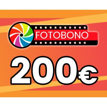 Fotobono 200€