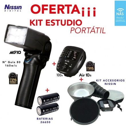 NIssin Kit MG10 + Air 10s (Canon)