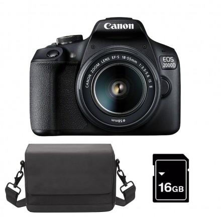 Canon EOS-2000D + 18/55 IS II