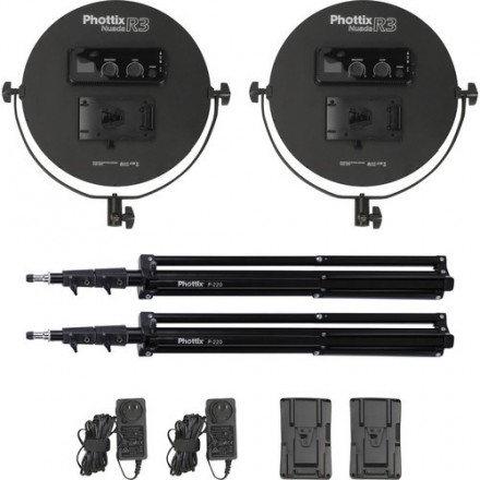 Phottix Kit Twin LED Nuada R3