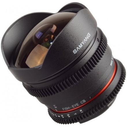 Samyang Vídeo 8mm DSLR-APS-C T3.8 VDSLR II