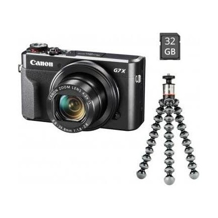 Canon PowerShot G7X Mark II + KIT VLOGGER