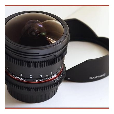 Samyang 8mm F-3.5 CSII AE (Nikon)