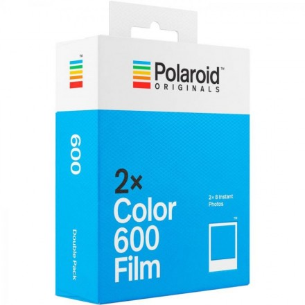 Polaroid Color Film 600 double pack