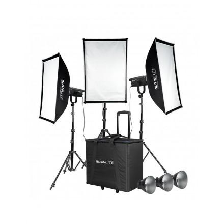 Nanlite Kit 3 focos LED FS-150 185W 5600K