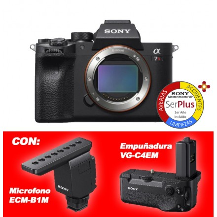 Sony ILCE-7R M IV (Cuerpo) (LCE-7RM4)