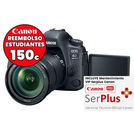 Canon EOS-6D Mark II (Cuerpo) PROXIMAMENTE