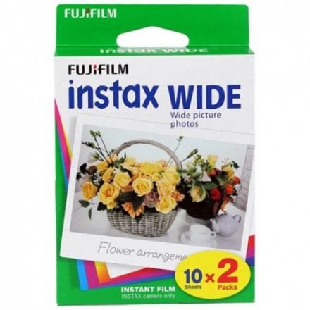 Fuji Instax Wide Bi-Pack