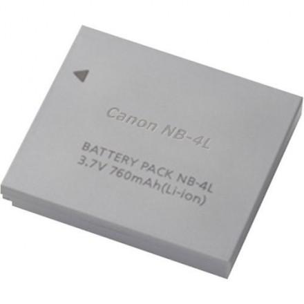 Zeus Para Canon NB-4L 3.7v 800 mAh