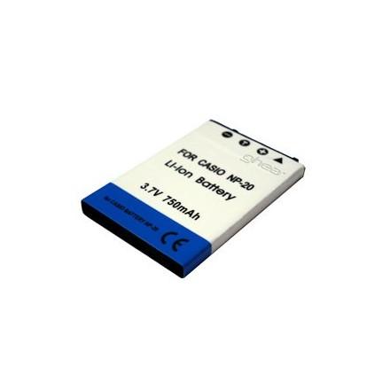 Zeus Para Casio NP-20 3.7v 750 mAh