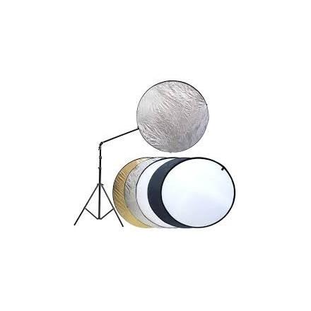 Fotima Kit Reflector 5 en 1 + Soporte + Pie