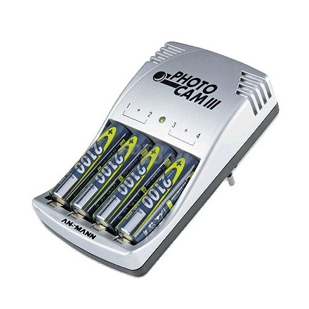 Cargador Ansmann Accu-Battery 2100 mAh
