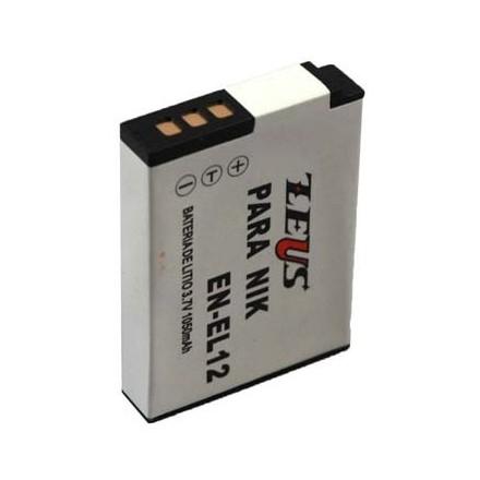 Zeus para Nikon EN-EL12 3.6v 1200mAh