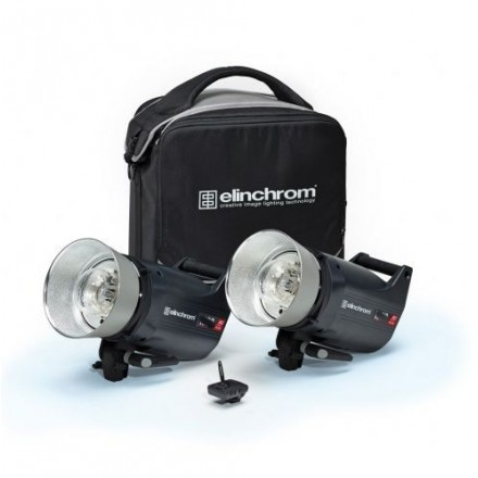 Elinchrom 2 Flash ELC PRO HD500
