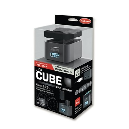 Hähnel Cargador Pro Cube (Canon/Nikon)
