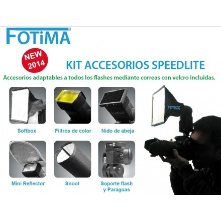 Fotima Kit Accesorios Adaptador Flash