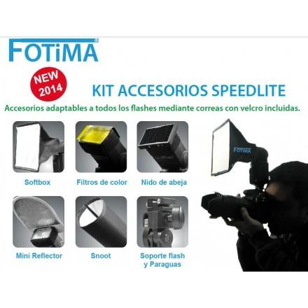Fotima Kit Accesorios Adaptador Flash
