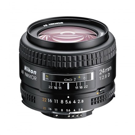 Nikon AF Nikkor 24mm F-2.8 D