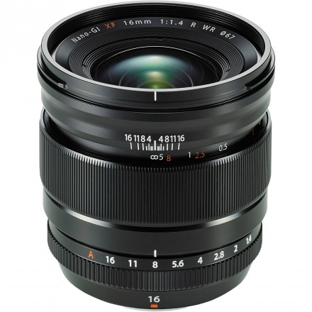Fuji XF 16mm F-1.4 R WR