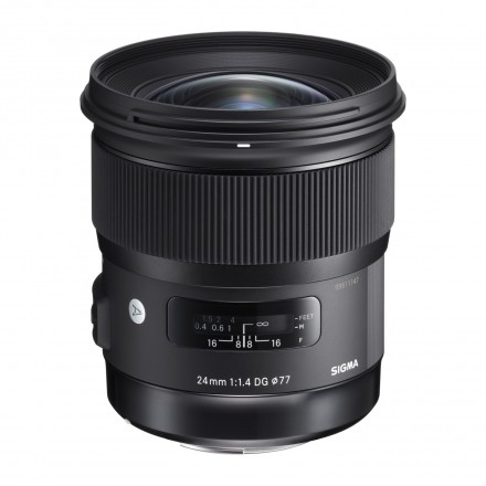 Sigma 24mm F-1.4 DG HSM Art