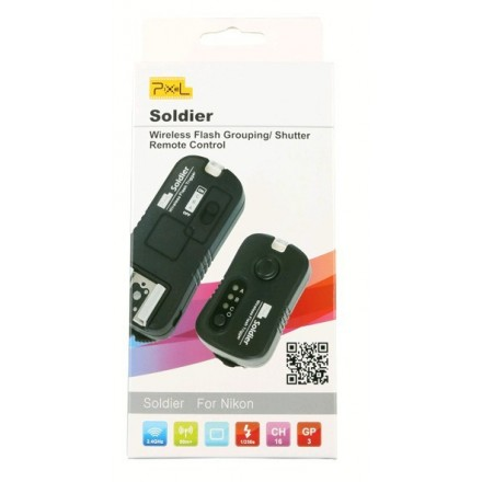 Pixel Soldier Kit emisor y receptor