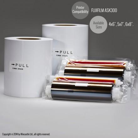 Fuji papel ASK-300 10x15