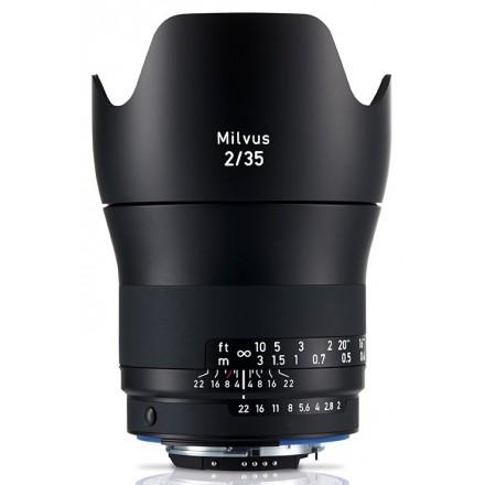 Zeiss Milvus T* 35mm F-2.0 ZE (Canon)