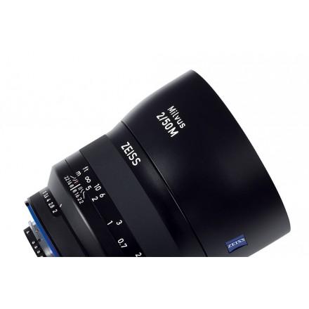 Zeiss Milvus T* 50mm F-2.0 ZE Macro (Canon)