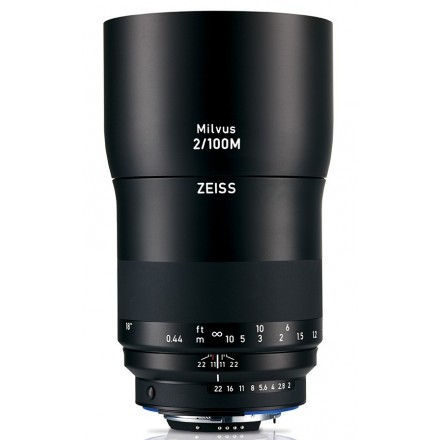 Zeiss Milvus T* 100mm F-2.0 ZE