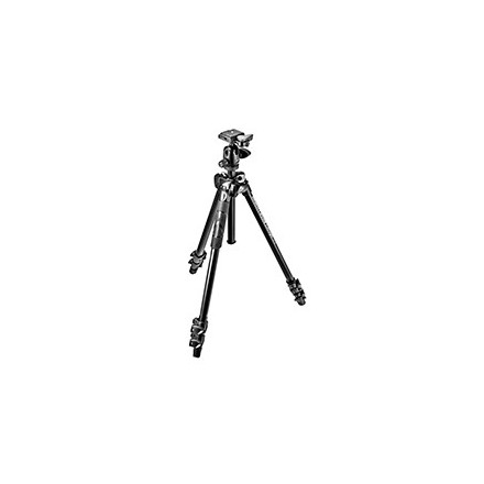 Manfrotto Kit 290 Light con rótula 3 way
