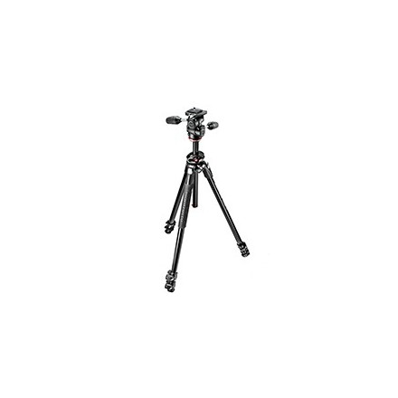 Manfrotto Kit 290 Dual con rótula 3 way (Aluminio)
