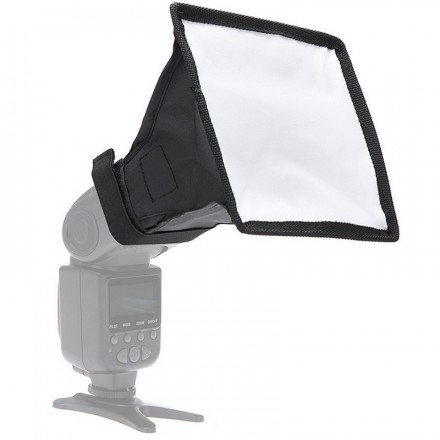 Difusor para flash de camara 15x17 cm