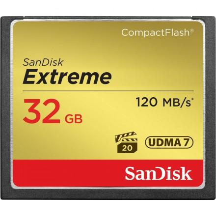 Sandisk CF Extreme 32GB 120MB/s* 800x