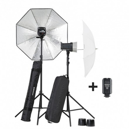 Elinchrom Kit 2 D-Lite RX ONE/ONE Softbox TO GO