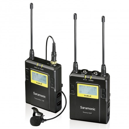 Saramonic UwMic9 (UHF Wireless Microphone)