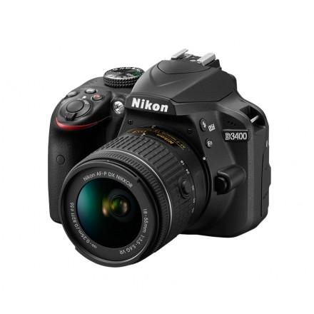 Nikon D-3400 + AF-P DX NIKKOR 18/55 F-3.5-5.6 G