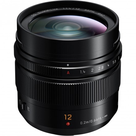 Panasonic 12mm F-1.4 ASPH - Leica DG Summilux (H-X012E)