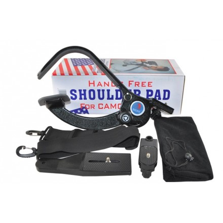 Soporte Vídeo Hands Free Shoulder Pad for Camcorders
