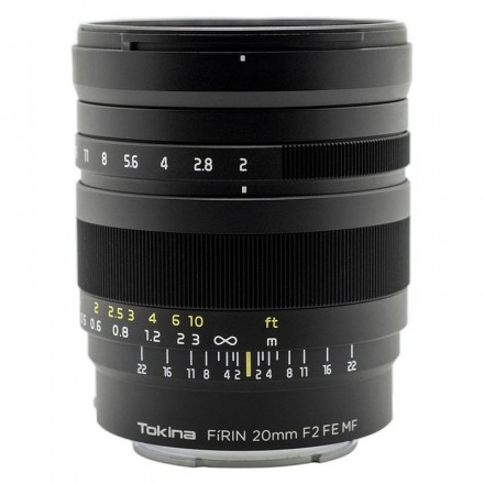 Tokina Firin 20mm F-2 FE MF