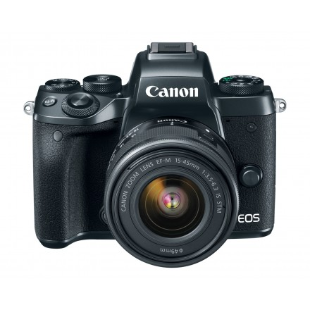 Canon EOS-M5 + EF-M 15/45 IS STM